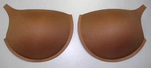 Bra cups skin color
