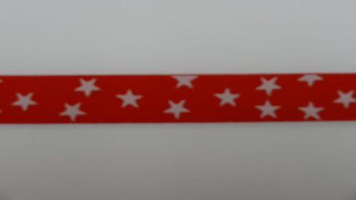 Waist elastic small red with star