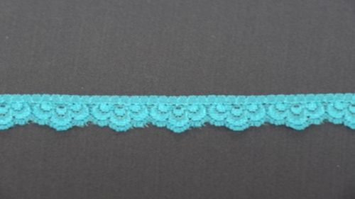 Elastic lace 11 small turquoise