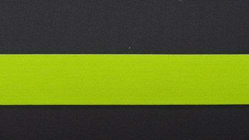 Waist elastic wide lime green