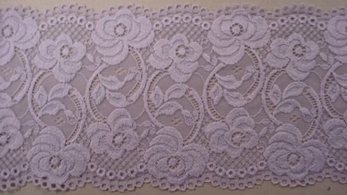 Knitted lace lilac