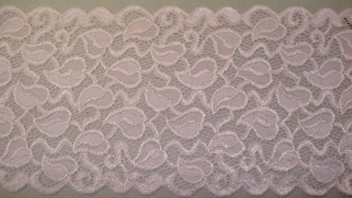 Knitted lace pink