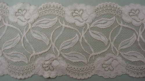 Knitted lace salmon