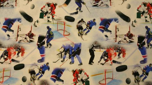 Digitale print ice hockey