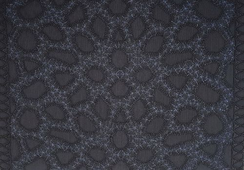 Tulle lace 51 Anthracite