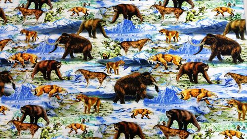 Digitale print Ice age