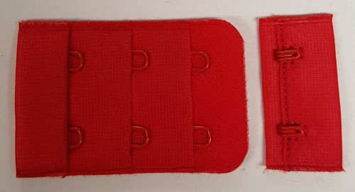Closures Bright red nr 30