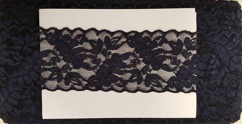 Elastic lace small 19 Dark Blue