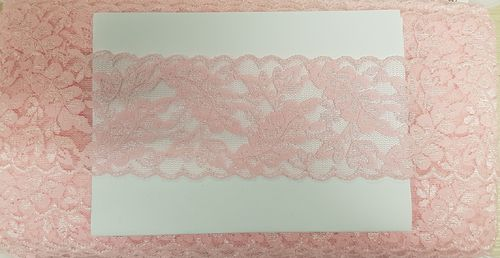 Elastic lace 21 Old pink