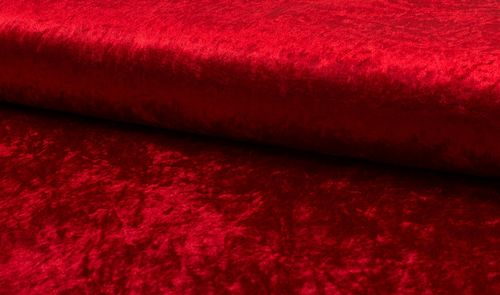 Velour de Pannes 3 Red