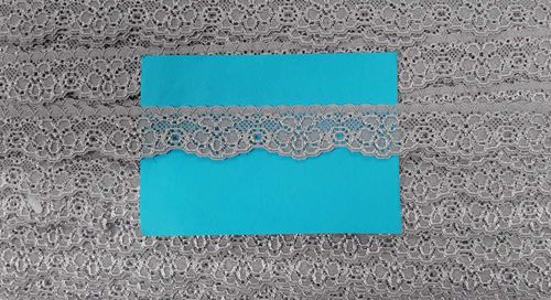 Elastic lace small 42