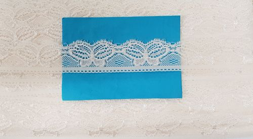 Elastic lace Small 30 Ecru