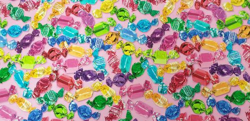 Digitale print Candy 336