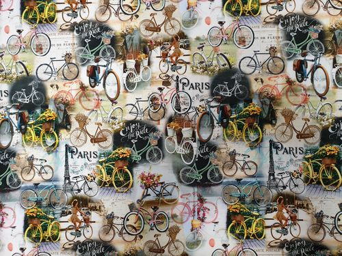 Digitale prints Vintage Bikes 352