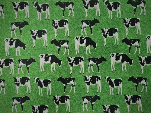 Digitale print Cows 351