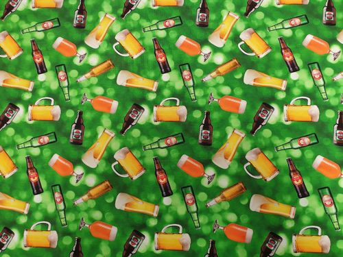 Digitale prints Beer green 370
