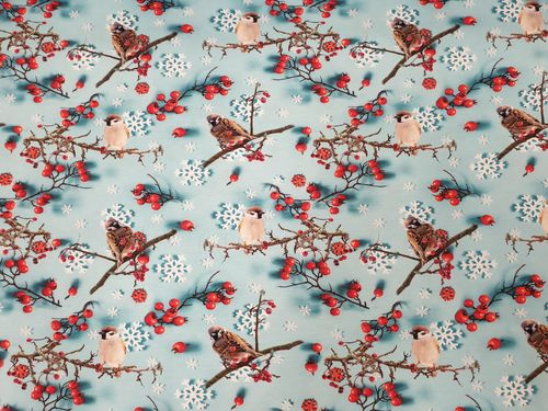 Digitale print 378 Berry and