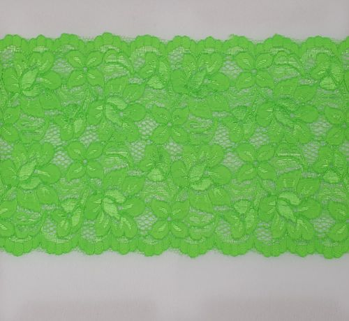 Knitted lace 117 Bright green