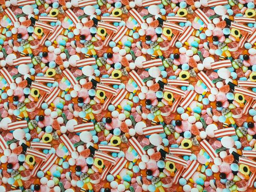 Digitale print 384 Candy